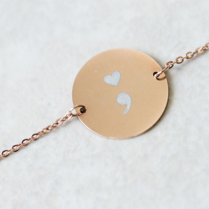 Circle Pendant Bracelet