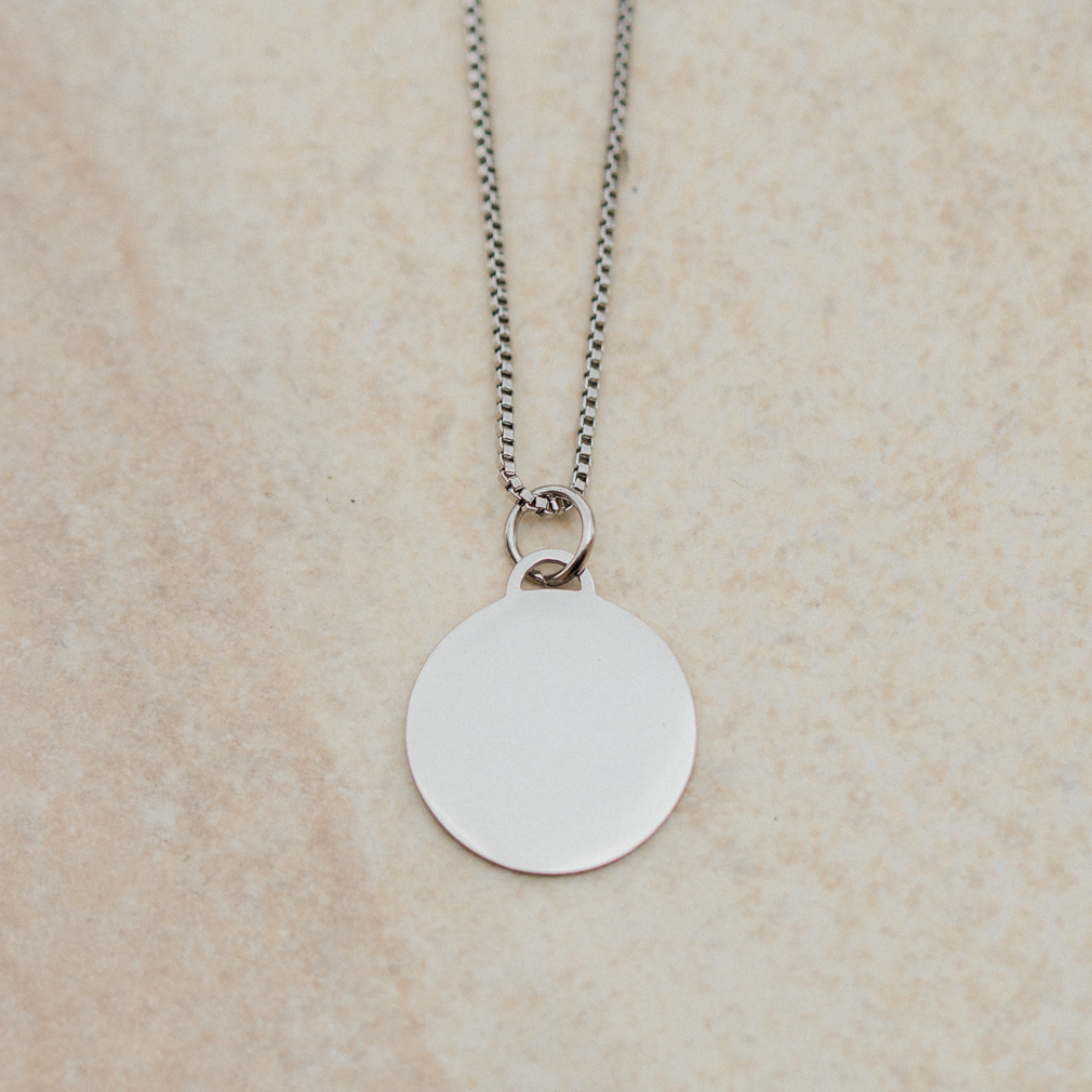 ee646ef37 Personalized Circle Necklace - Create Your Own Today