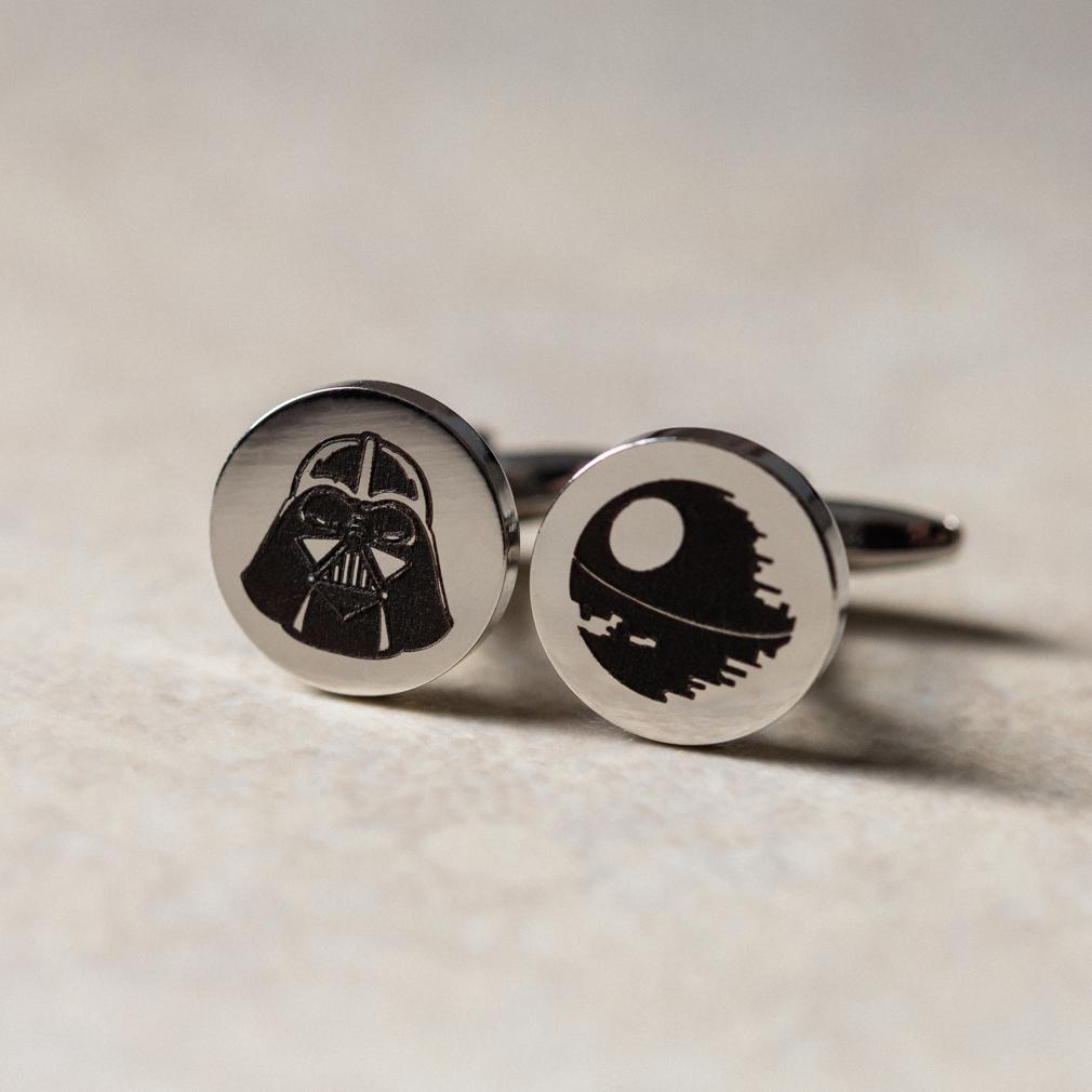 Personalized Circle Cufflinks