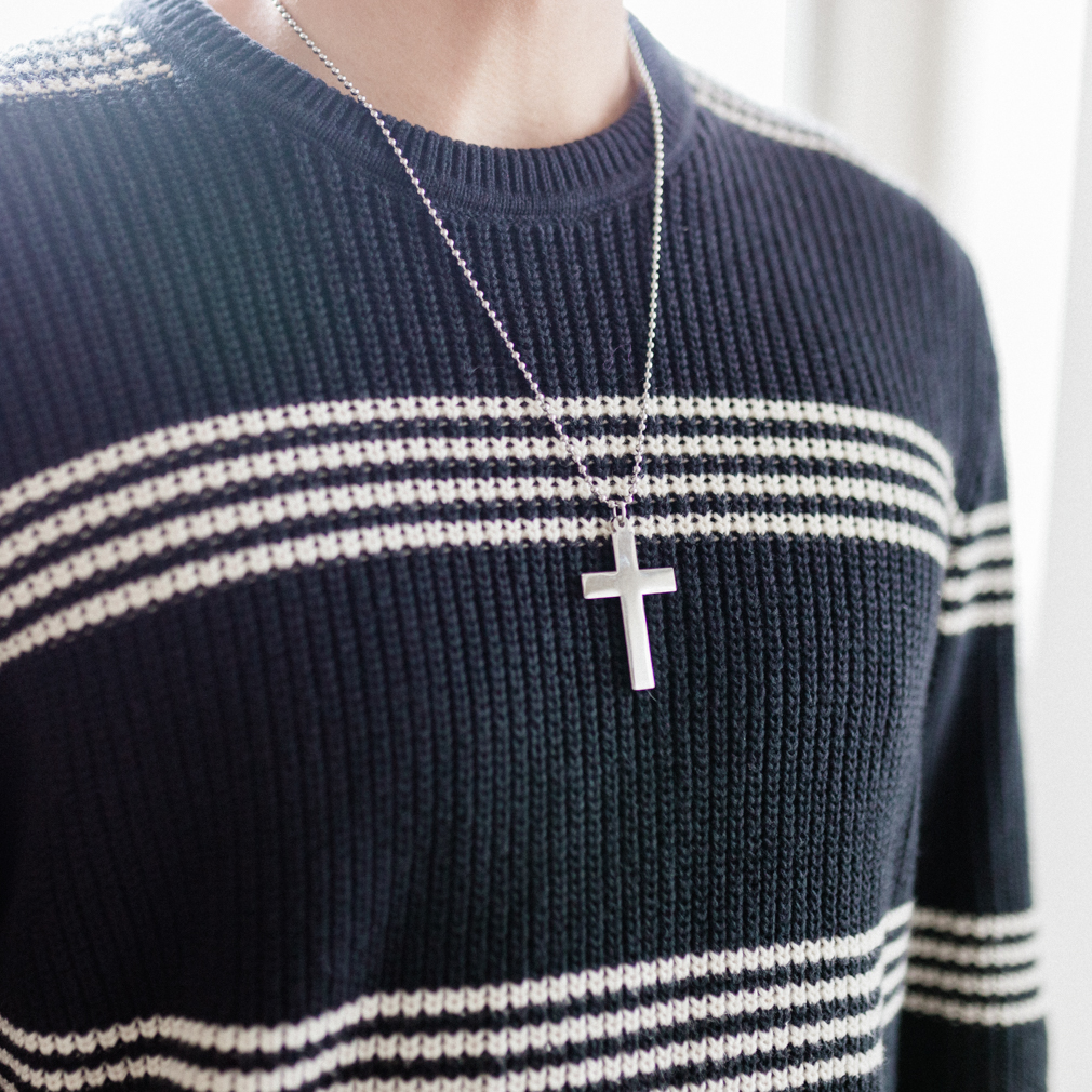 Personalized Cross Necklace