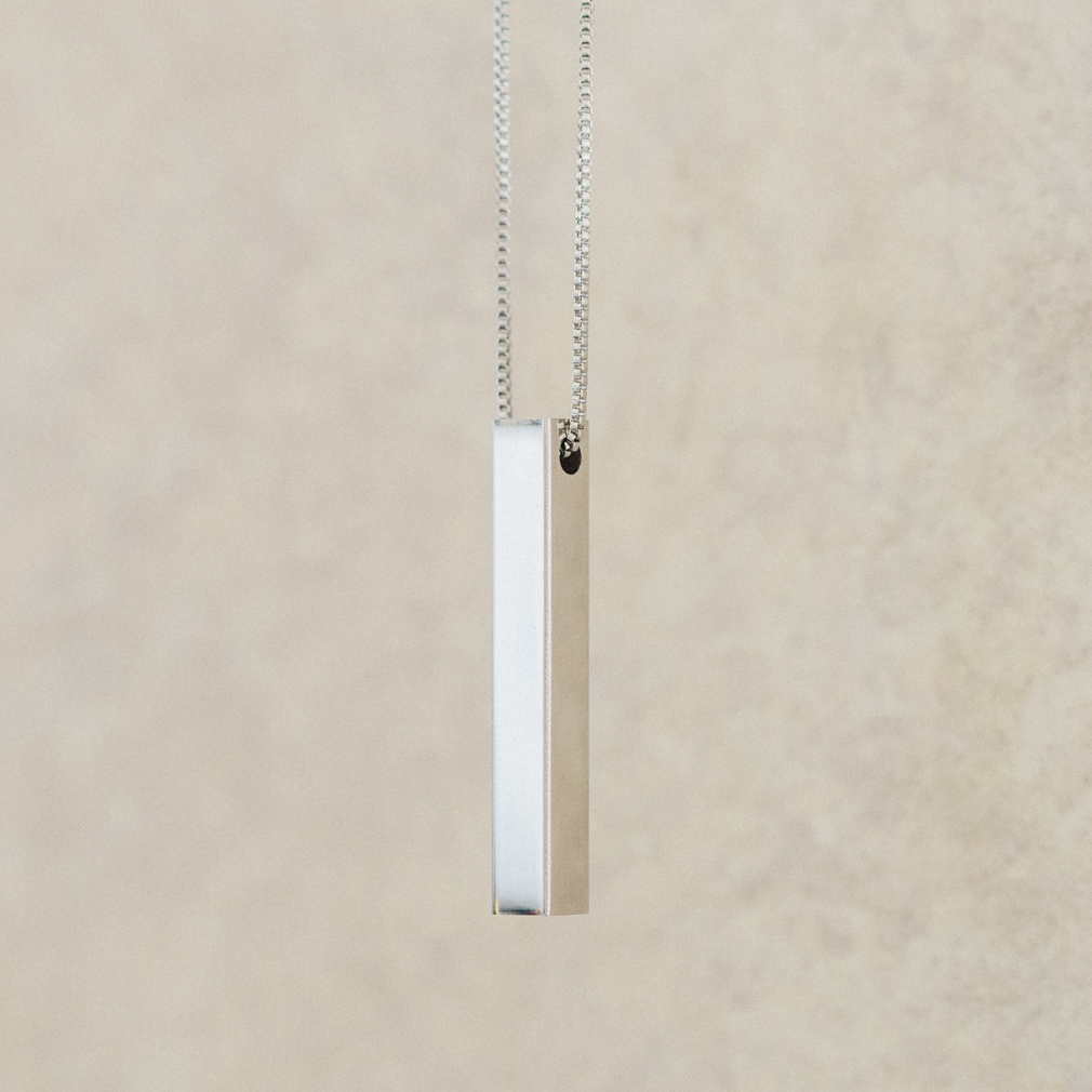 Starry Sky Temple Four-Sided Bar Necklace - LDP-FSBN-TEMPLESKY