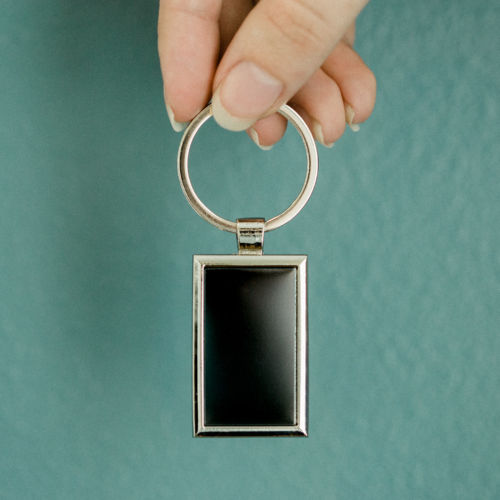 httpsBlack Rectangle Plate Keychain://engraveco.com/product-category/personalized-jewelry/personalized-keychains/