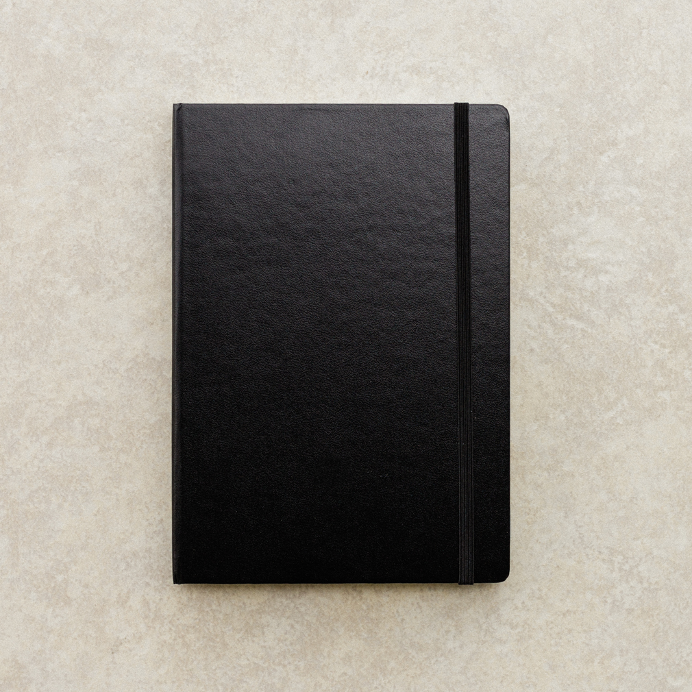 Black Personalized Journal